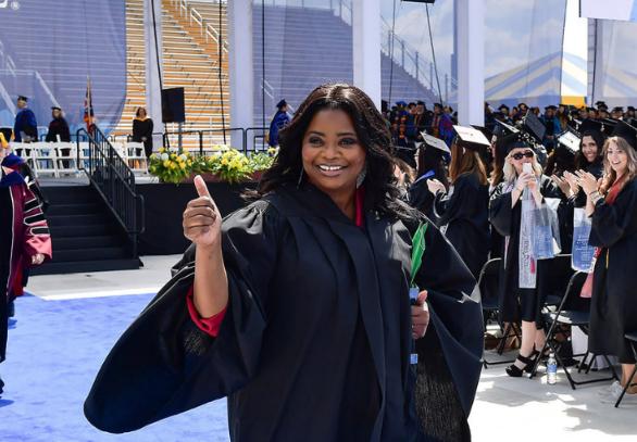 Octavia Spencer discursos de graduación