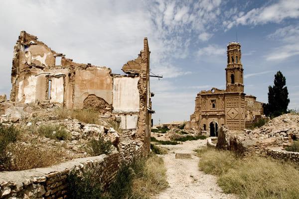 Belchite lugares misteriosos de España