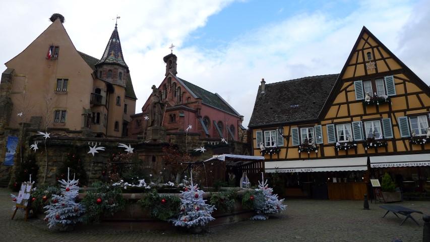 Alsacia en Navidad - Eguisheim en Navidad