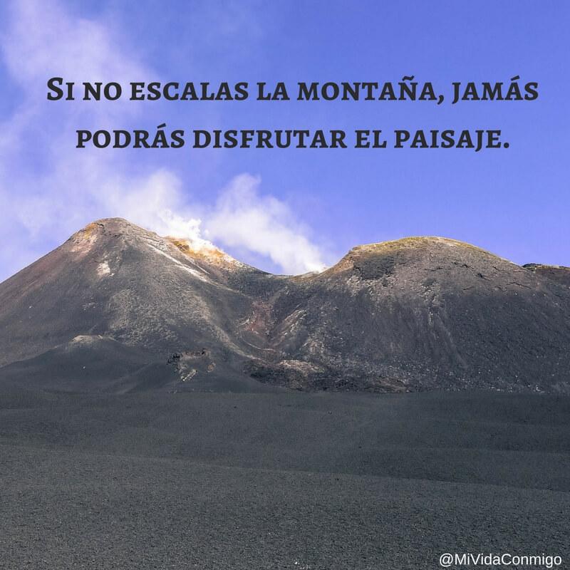 viajar frases Etna