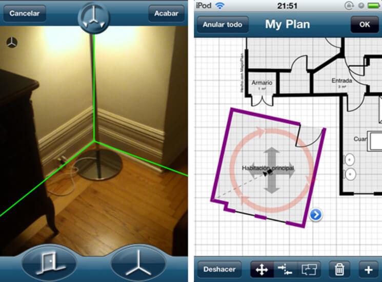 apps de realidad aumentada MagicPlan