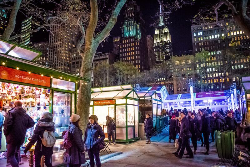 mercado navideños nyc